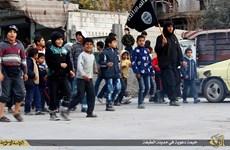 Đao phủ IS dạy trẻ em hành quyết bằng cách chặt đầu búp bê
