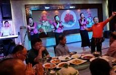 Ban nhạc nữ Triều Tiên khuấy đảo biên giới Trung Quốc