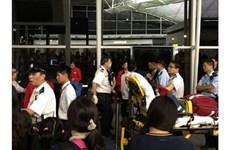 Bị hoãn chuyến, khách Trung Quốc hành hung nhân viên sân bay