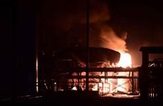 """Quầng lửa như """"bom hạt nhân"""" trong vụ nổ hóa chất ở Sơn Đông"""