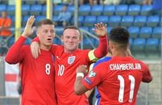Anh là đội đầu tiên giành vé dự EURO 2016, Rooney lập kỷ lục