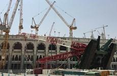 Gia đình Bin Laden bị phạt vì vụ sập cần cẩu chết người ở Mecca