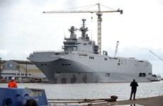 Pháp tuyên bố bán tàu chiến Mistral cho Ai Cập sau khi từ chối Nga