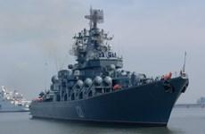 Tàu chiến Nga từ biển Caspian phóng tên lửa vào mục tiêu IS