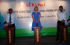 Ra mắt website phổ cập kiến thức tài chính cho trẻ em