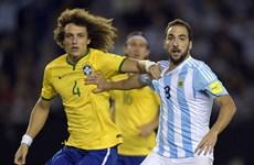 Hòa Brazil, Argentina rơi xuống vị trí thứ 8 khu vực Nam Mỹ