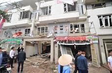 Khoảnh khắc xảy ra vụ nổ kinh hoàng tại khu đô thị Văn Phú