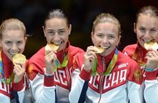 Tổng thống Nga Putin chào đón đoàn Olympic trở về như người hùng