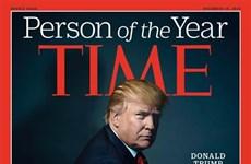 Time chọn Tổng thống đắc cử Mỹ Donald Trump là Nhân vật của năm