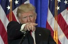 Video Tổng thống đắc cử Mỹ Trump chỉ tay mắng phóng viên CNN