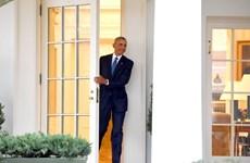Tổng thống Mỹ Barack Obama xuất hiện lần cuối ở phòng Bầu dục