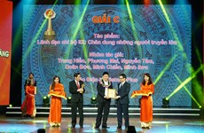 VietnamPlus đoạt giải C tại giải báo chí Búa Liềm Vàng lần thứ nhất