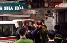 Hà Nội: Xác nhận có một người chết trong vụ cháy ở phố Bát Đàn