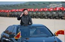 Cận cảnh lãnh đạo Triều Tiên Kim Jong-un thị sát tập trận