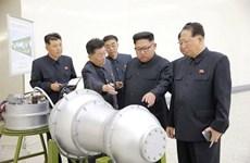 Tin nóng của Yonhap: Triều Tiên có thể vừa thử hạt nhân lần thứ 6