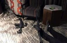 Hình ảnh đáng sợ bên trong căn phòng khách sạn của kẻ xả súng ở Vegas