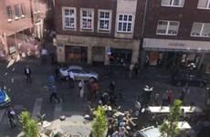 Đức: Lại xảy ra vụ ôtô lao vào đám đông, đã có người chết