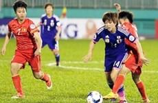 [Video] Xem trực tiếp bóng đá nữ châu Á giữa Việt Nam-Nhật Bản
