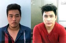 Công an TP.HCM công bố hình ảnh 2 nghi phạm đâm các hiệp sỹ