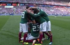 Cận cảnh Lozano sút tung lưới đội tuyển Đức giúp Mexico vượt lên