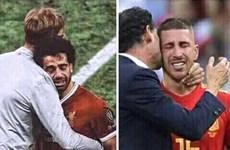 Ramos khóc nức nở sau penalty, fan thế giới ăn mừng 'quả báo'
