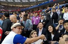 Anh em cựu Thủ tướng Thái Lan Thaksin-Yingluck xem World Cup tại Nga?