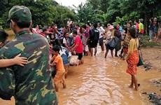 Video nước tuôn ào ạt trong vụ vỡ đập thủy điện nghiêm trọng ở Lào