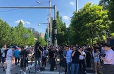 Nghi phạm trong vụ nổ bên ngoài Đại sứ quán Mỹ là nam giới