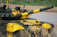 Xem trực tiếp kíp xe tăng Việt Nam thi tài ở Tank Biathlon 2018