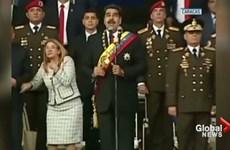 Video cảnh UAV phát nổ trong vụ mưu sát Tổng thống Venezuela