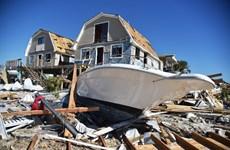 Hình ảnh siêu bão Michael tàn phá nhiều bang của nước Mỹ