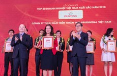 Prudential nhận danh hiệu doanh nghiệp Bảo hiểm nhân thọ tốt nhất