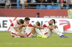 Video các cầu thủ Jordan khóc nức nở sau thất bại trước Việt Nam