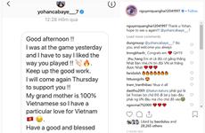Tuyển thủ Pháp Cabaye gửi tin nhắn chúc Quang Hải tỏa sáng ở Asian Cup