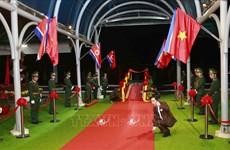 Ga Đồng Đăng trải thảm đỏ đón Chủ tịch Triều Tiên Kim Jong-un