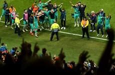 Video Tottenham tới Madrid chuẩn bị đá chung kết Champions League