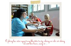 Cậu trợ giảng nhí và lớp học đặc biệt tại khoa Ung bướu Nhi