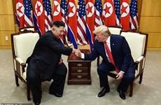 Video cuộc hội đàm giữa ông Donald Trump và ông Kim Jong-un