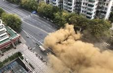 Trung Quốc: Sập công trình xây dựng tàu điện ngầm tại Hàng Châu