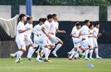 [Video] Quang Hải nói gì trước trận quyết đấu với U23 Triều Tiên