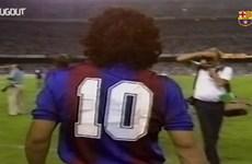 Video so sánh sự giống nhau giữa 2 thiên tài Maradona và Messi