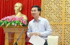 Ông Võ Văn Thưởng: Báo cáo chính trị cần có tầm nhìn dài hạn
