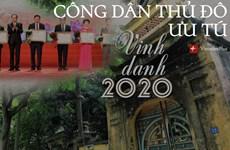 [Mega Story] Công dân Thủ đô ưu tú 2020: Vang mãi khúc tráng ca Hà Nội