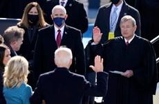 [Photo] Những hình ảnh đáng nhớ tại lễ tuyên thệ của ông Joe Biden