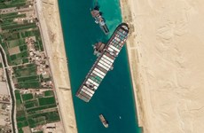 [Timeline] Toàn cảnh vụ siêu tàu Ever Given mắt kẹt ở kênh đào Suez