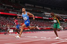 [Video] Marcell Jacobs đã về nhất ở cự li 100m như thế nào?