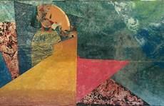 Thiên nhiên mộng mơ trong sơn mài trên toan của Nguyễn Thế Hùng