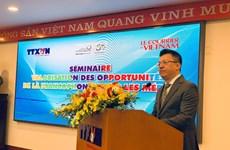 Vị thế trong cộng đồng Pháp ngữ mang lại cho Việt Nam nhiều cơ hội