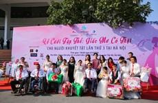 Xúc động đám cưới tập thể của 46 cặp đôi khuyết tật diễn ra tại Hà Nội
