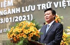 Ngành lưu trữ Việt Nam: 75 năm bảo tồn và phát huy di sản tư liệu